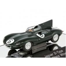 Jaguar D-Type #6 Winner LM 1955 J.M.Hawtorn - I.L.Bueb