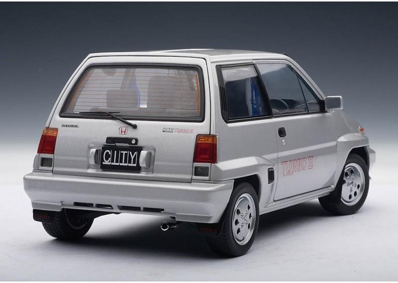 Honda city turbo II 1983 (в комплекте с мини-мото) silver ...