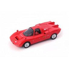 Alfa Romeo FNM Furia GT 1971 Brazil red