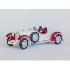 Austro-Daimler 6 Sport Torpedo1929 white / red