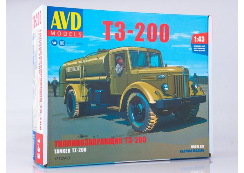 Сборная модель Топливозаправщик Т3-200
