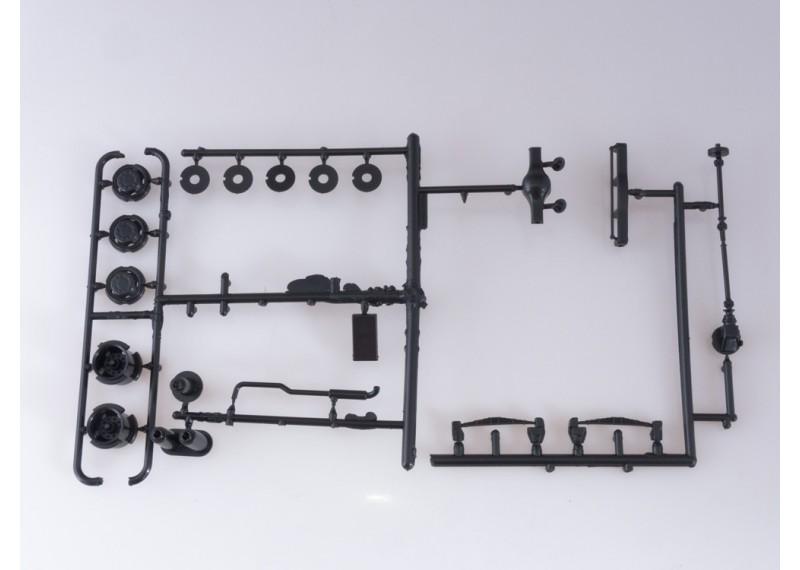 Сборная модель МАЗ-200В с полуприцепом НАМИ-790