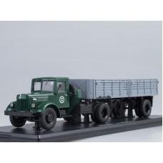 МАЗ-200В с полуприцепом МАЗ-5215