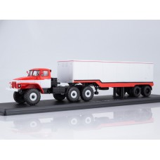 Миасский грузовик 377С с полуприцепом ОДАЗ-935
