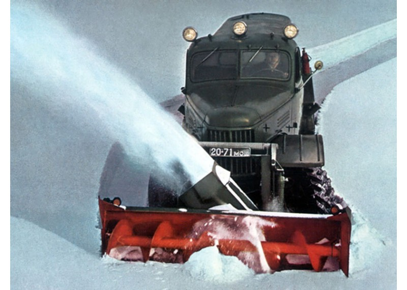 Картинки снегоуборочная машина зил