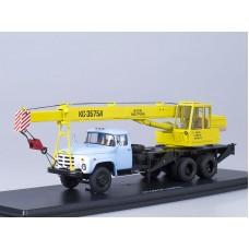 Автокран КС-3575А (133ГЯ), (желтый/голубой)